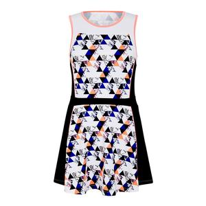 Women`s Madison Graphic Tennis Dress Sandstone
