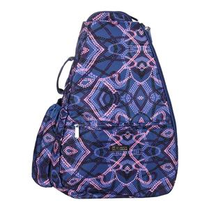Women`s Tennis Backpack Primitive Dots Print