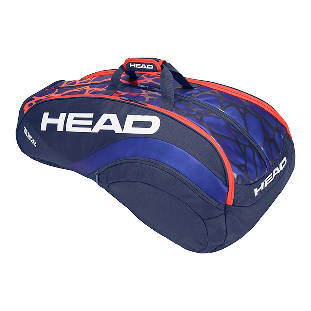 137e704370de SALE Radical Monstercombi Tennis Bag Blue and Orange