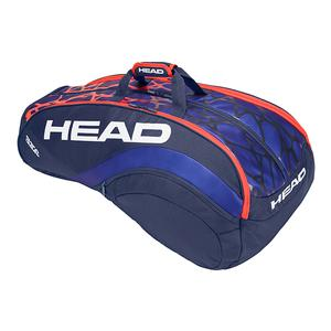 Radical Monstercombi Tennis Bag Blue and Orange