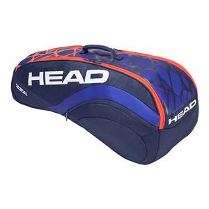 Radical Combi Tennis Bag Blue and Orange