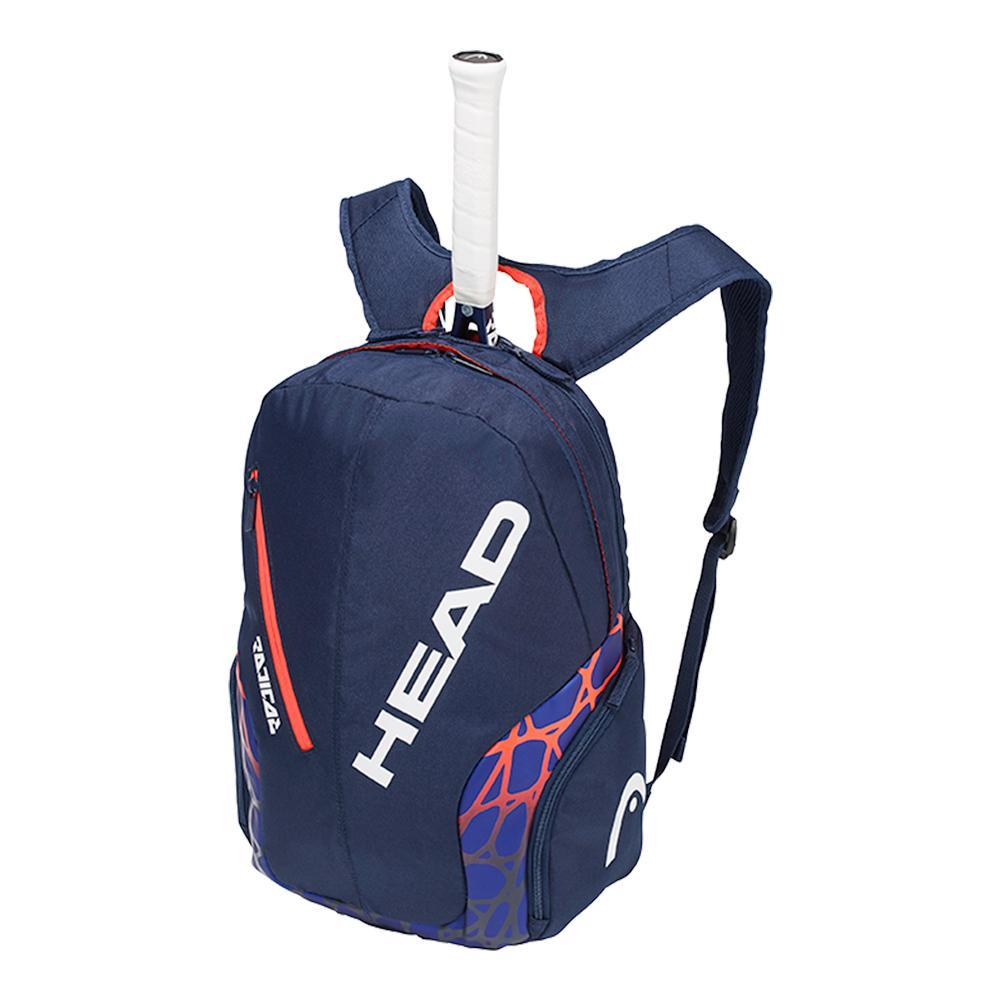 Radical Tennis Backpack Blue And Orange