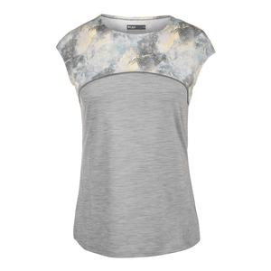 Women`s Tenacious Tennis Tee Lead and Geo Print