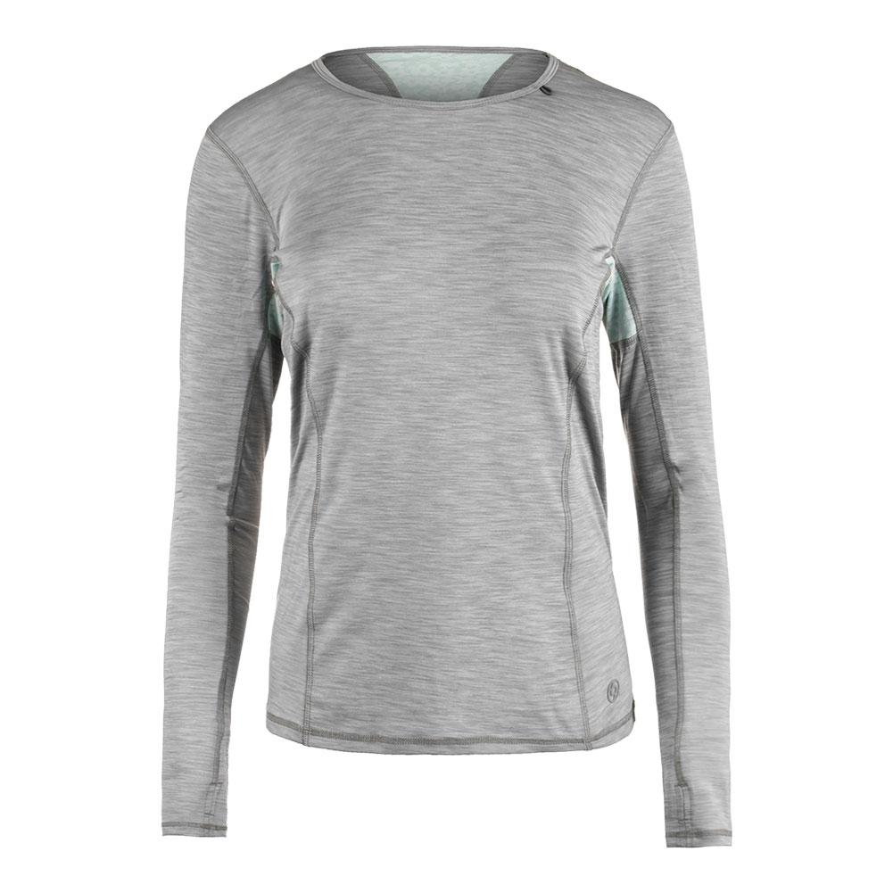 Women's Interval Long Sleeve Tennis Top Lead