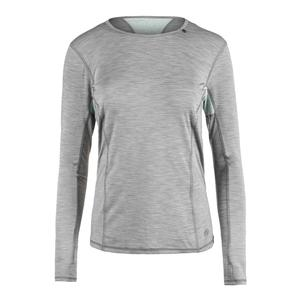 Women`s Interval Long Sleeve Tennis Top Lead