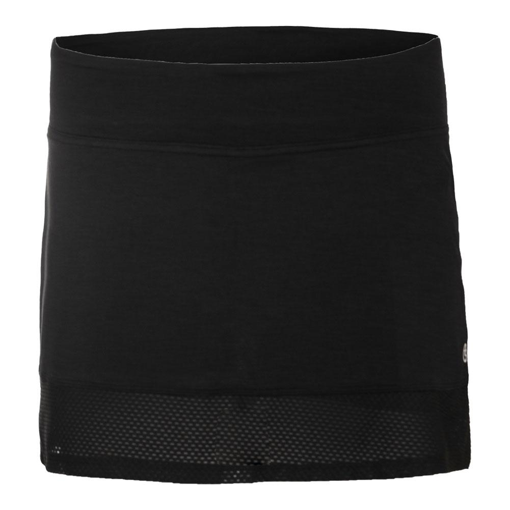 Women's Borderline Tennis Skort Black