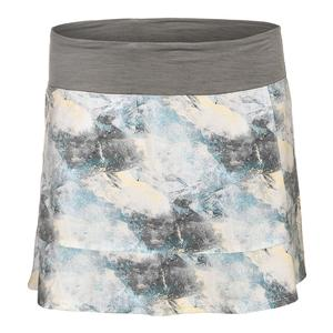 Women`s Fleet Tennis Skort Geo Print
