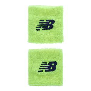 Women`s 3 Inch Tennis Wristbands Bleach Lime Glo