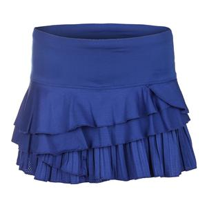 Women`s Rally Pleat Tier Tennis Skort Sapphire