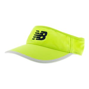 Women`s Tennis Visor Bleach Lime Glo