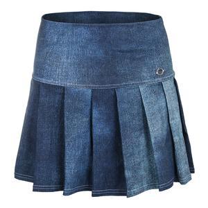 Women`s Athleisure Pleated Tennis Skirt Bluejean