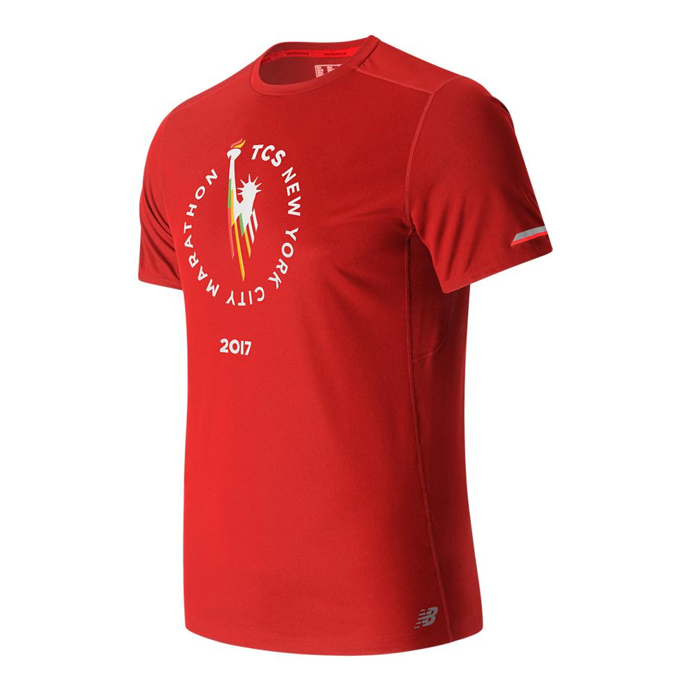 Men's Ice Short Sleeve Top Team Red