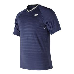Men`s Tournament V Neck Tennis Top Dark Cyclone