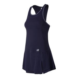 Women`s Rosewater Tennis Dress Pigment and White