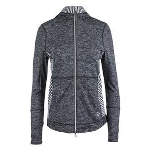 Women`s Revolution Tennis Jacket Carbon Diagonal Stripe