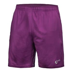 Men`s Hitting Tennis Short Eggplant