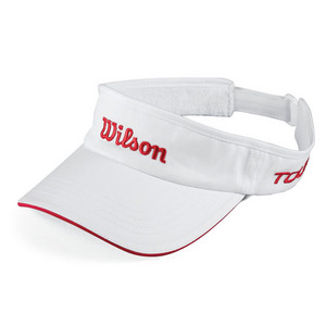 WILSON TOUR VISOR WHITE