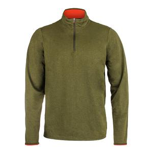 Men`s Lightweight Performance Interlock Top Cypress Heather
