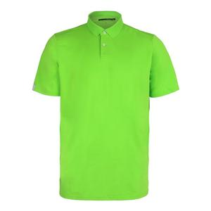 Men`s Solid Airflow Jersey Polo