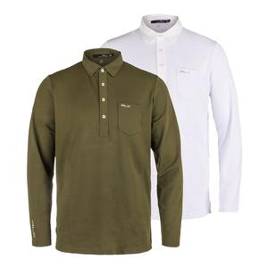 Men`s Long Sleeve Tech Pique Top