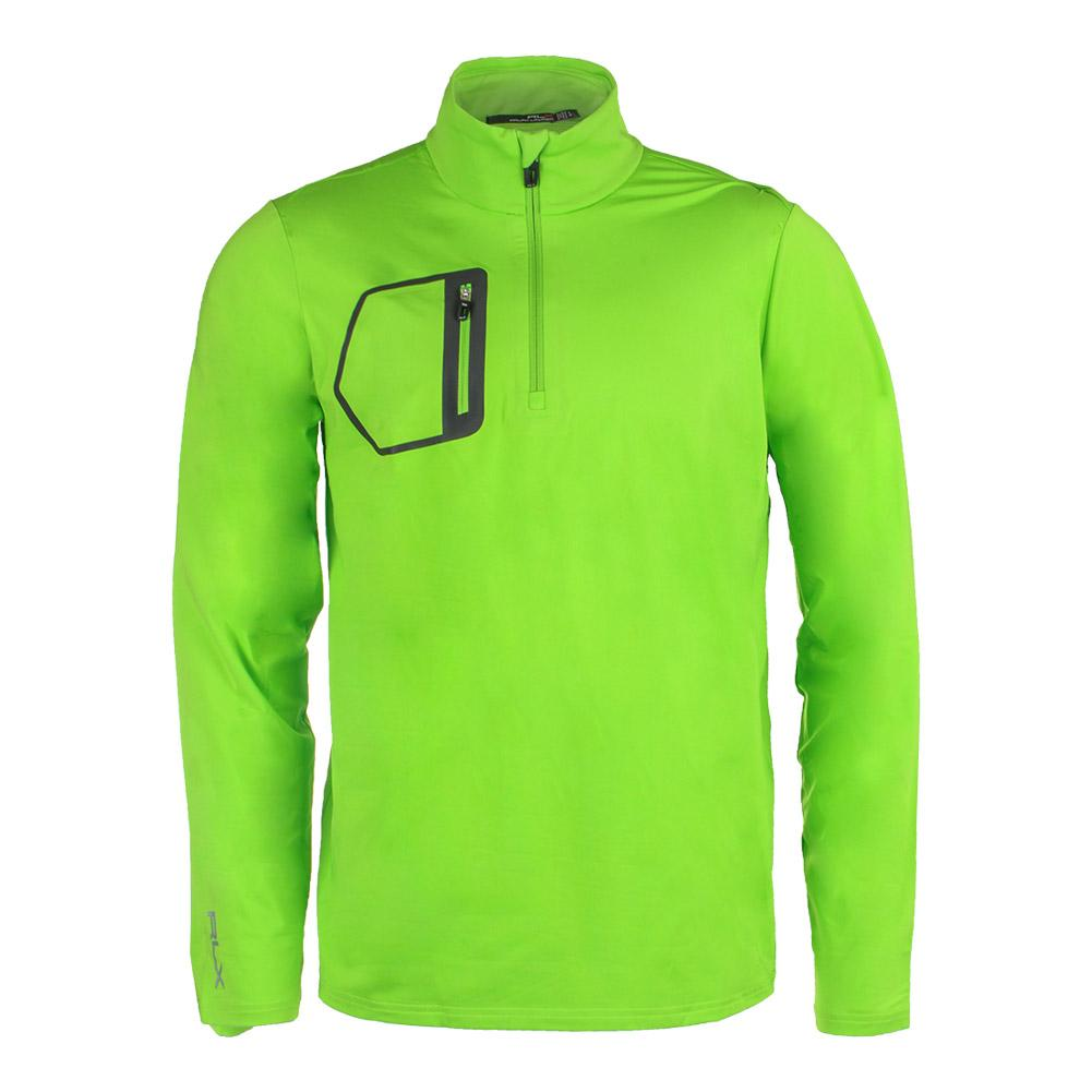 Men's Brushed Back Jersey Layer Ranger Lime