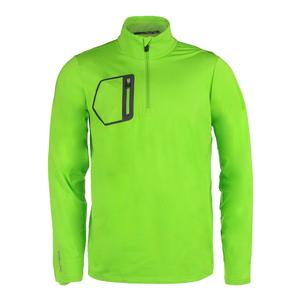 Men`s Brushed Back Jersey Layer Ranger Lime