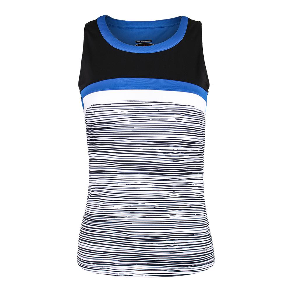 Women's Picasso Tennis Tank Black