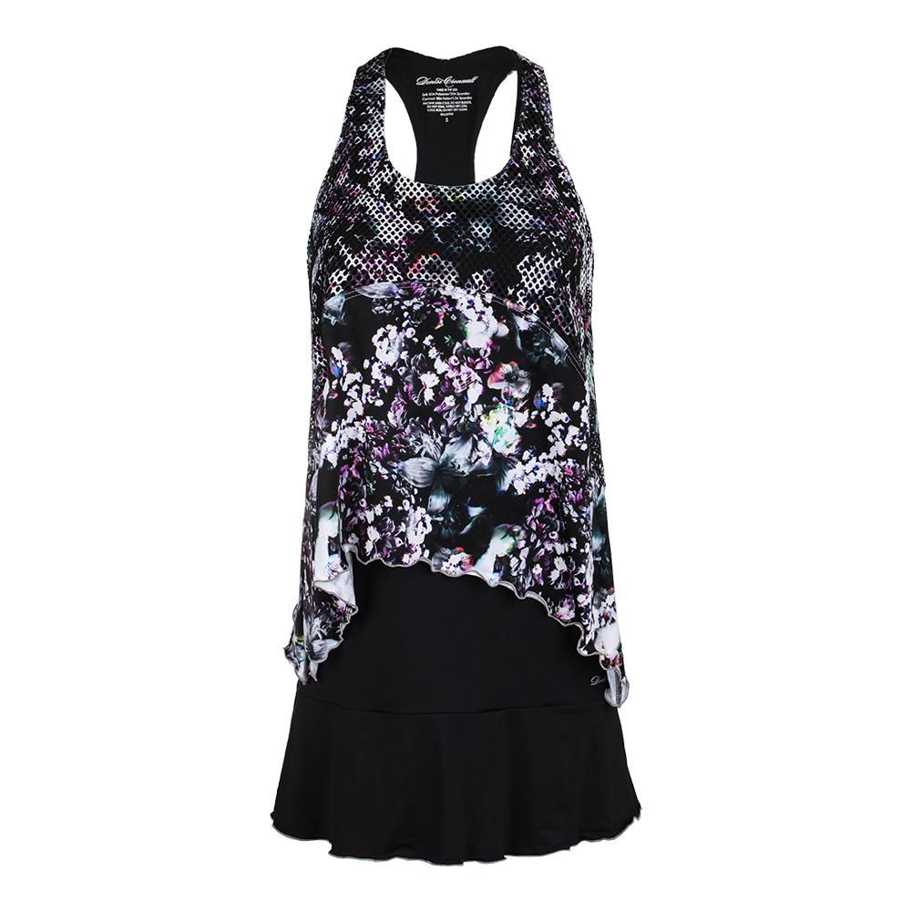 Women's Tennis Dress Black And Print