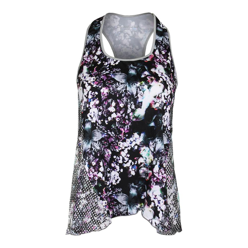 Women's Layer Tennis Top Print