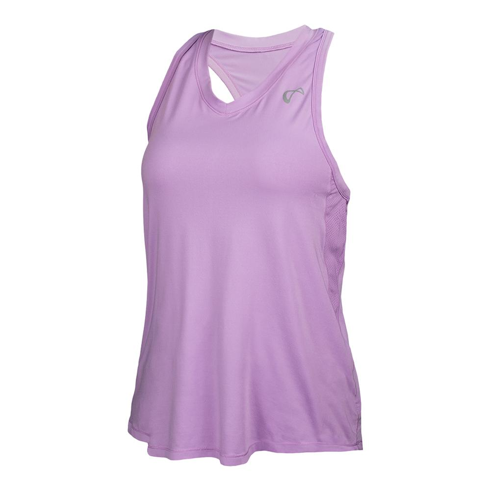 Girls ` Racerback Tennis Tank Lilac