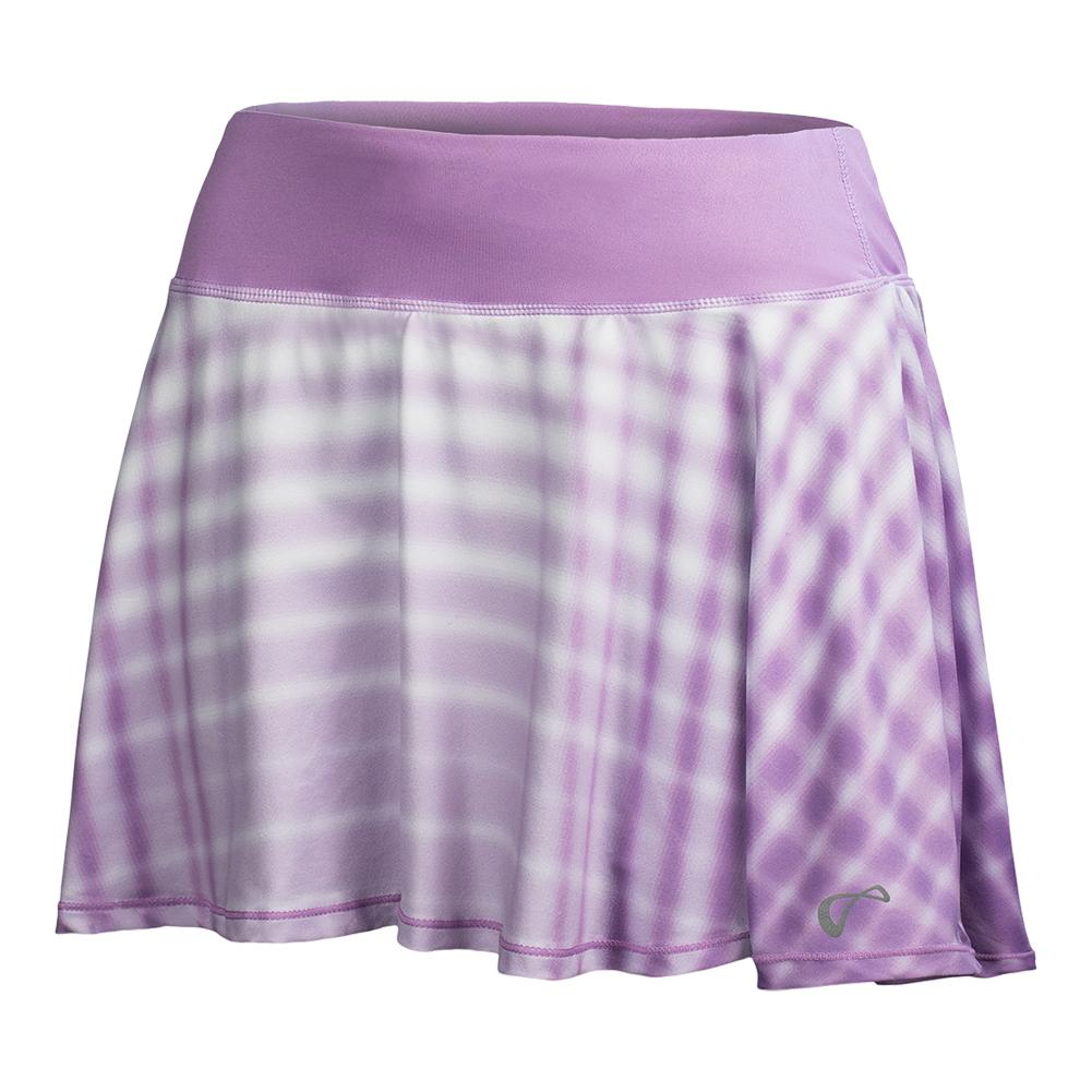 Girls ` Racquet Circle Tennis Skort Lilac