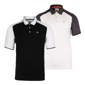 Men`s Court Deco Tennis Polo