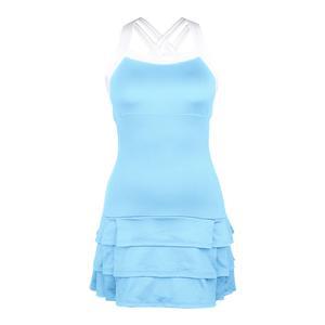 Women`s Grace Strappy Tennis Dress Light Blue
