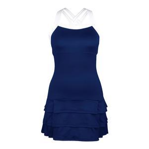 Women`s Grace Strappy Tennis Dress Navy