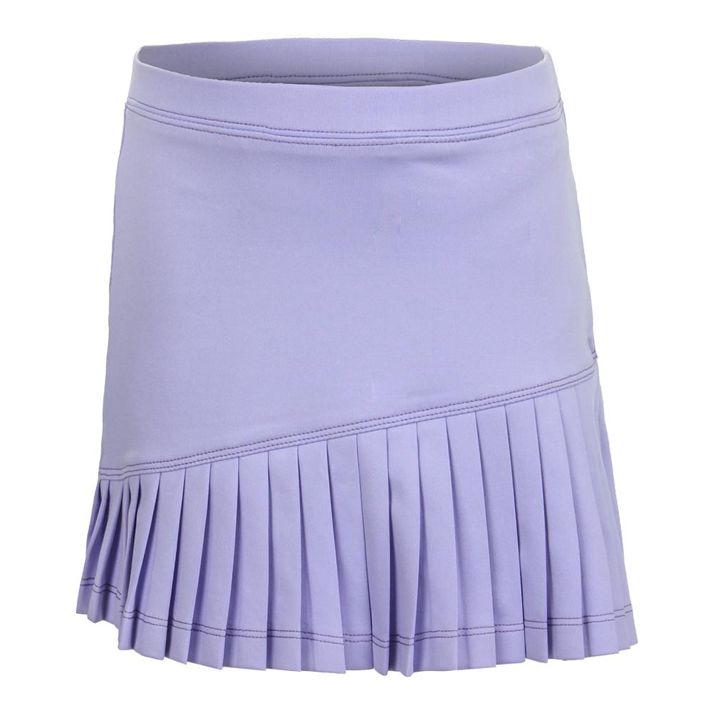 Girls ` Asymmetrical Tennis Skort Purple
