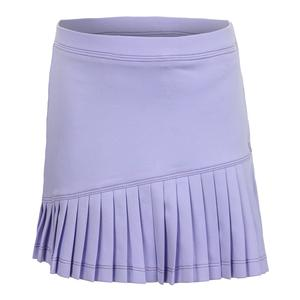 Girls` Asymmetrical Tennis Skort Purple