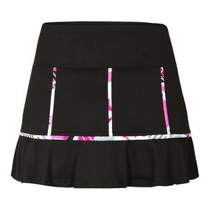 Women`s Brianna 13.5 Inch Tennis Skort Black