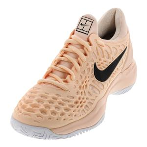 Women`s Zoom Cage 3 Tennis Shoes Crimson Tint and Black