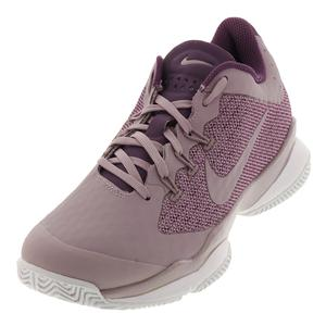 Women`s Air Zoom Ultra Tennis Shoes Elemental Rose and Pro Purple
