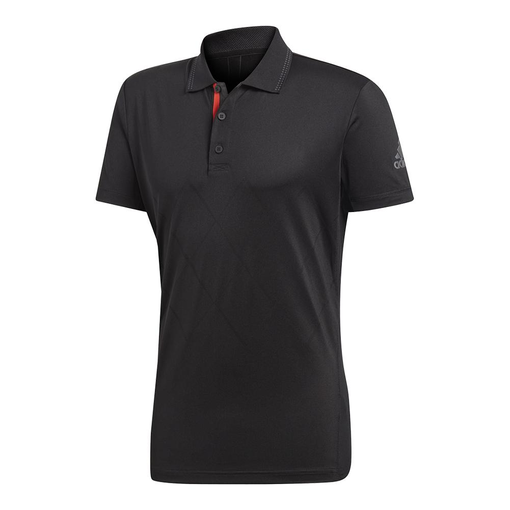 Men's Barricade Engineered Tennis Polo Black