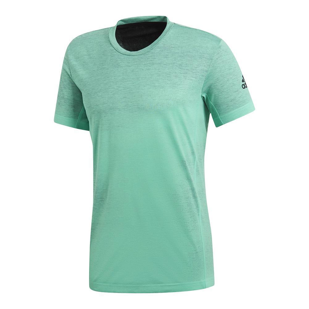Men's Melbourne Printed Tennis Tee Hi- Res Green