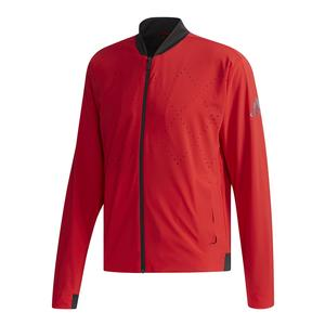 Men`s Barricade Tennis Jacket Scarlet