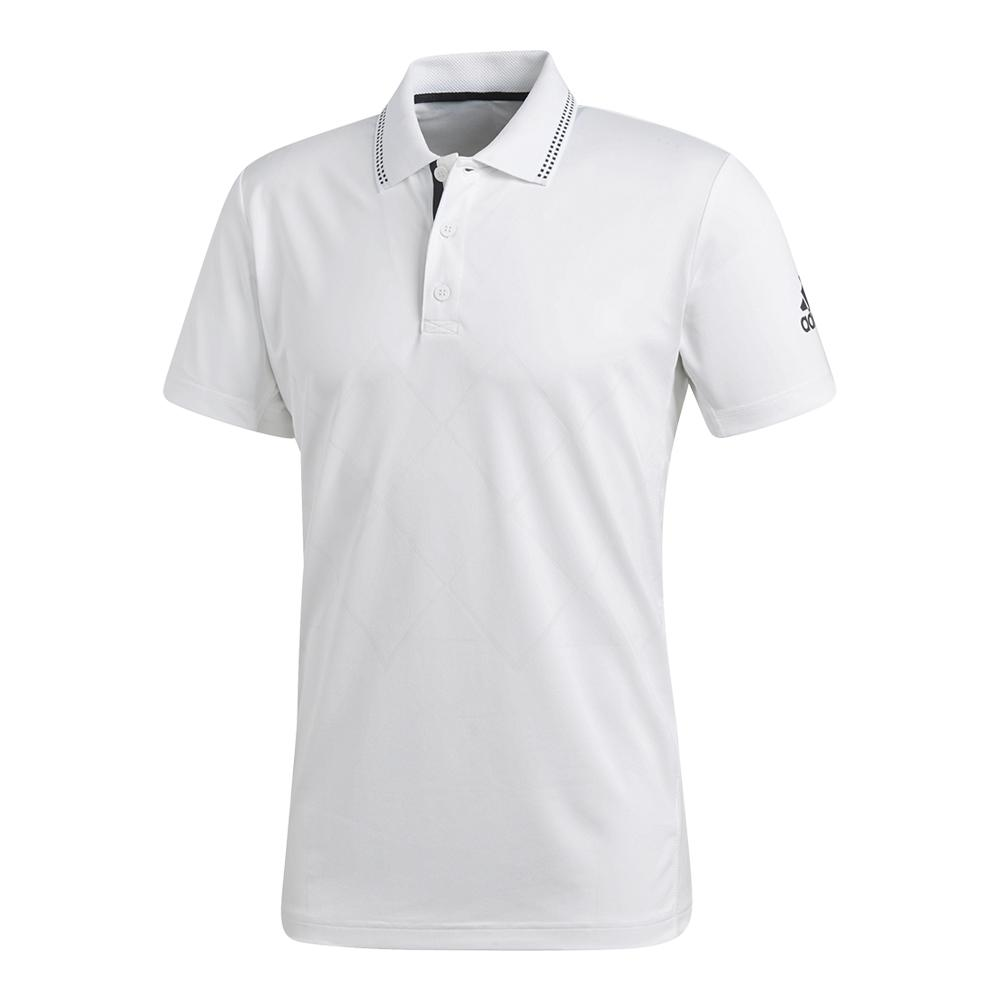 Men's Barricade Engineered Tennis Polo White