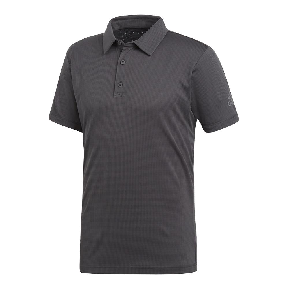 Men's Climachill Tennis Polo Carbon