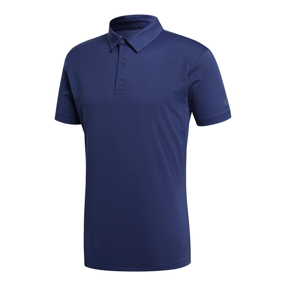 Men's Climachill Tennis Polo Noble Indigo