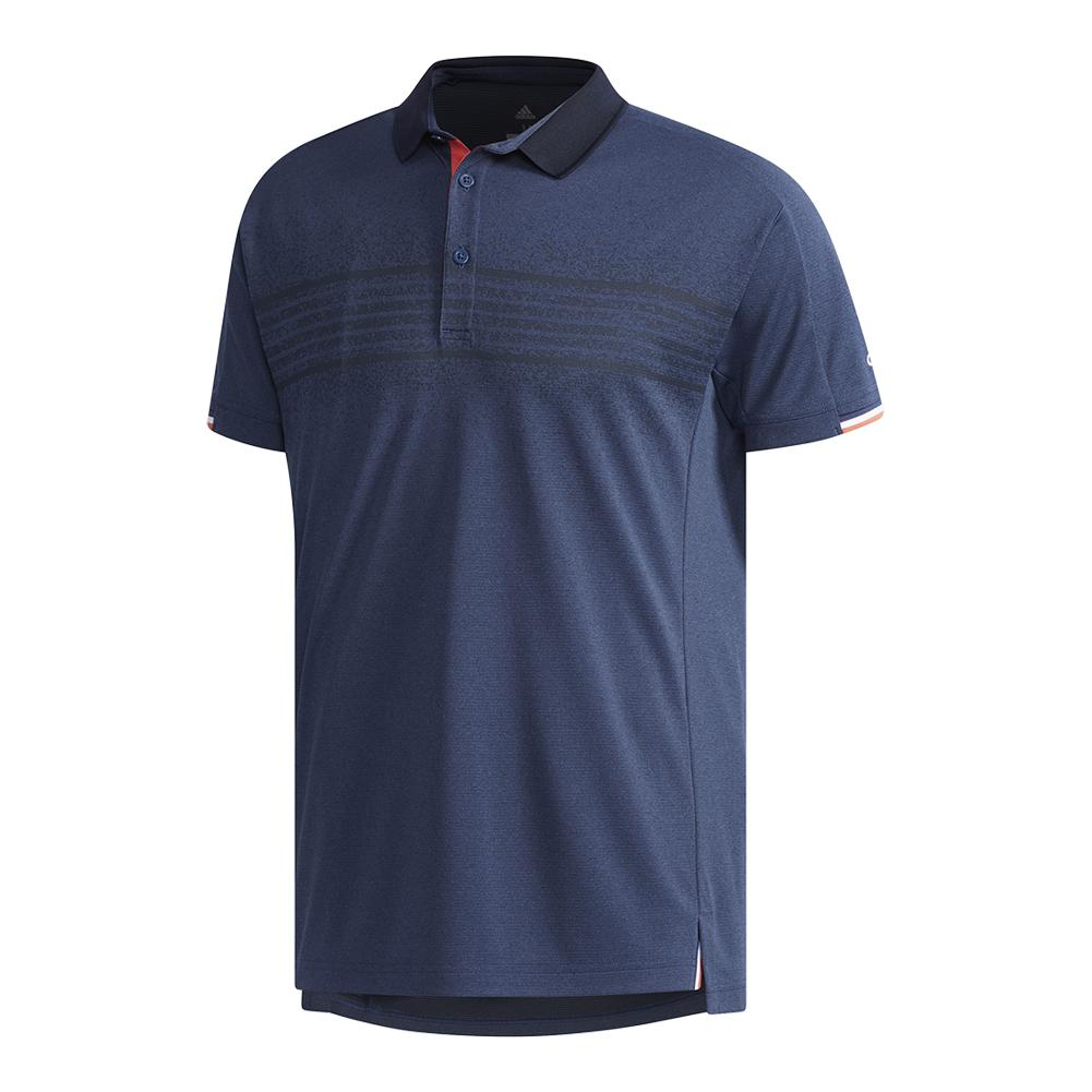 Men's Club Tennis Polo Q2 Noble Indigo