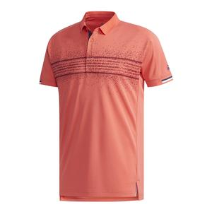 Men`s Club Tennis Polo Q2 Trace Scarlet
