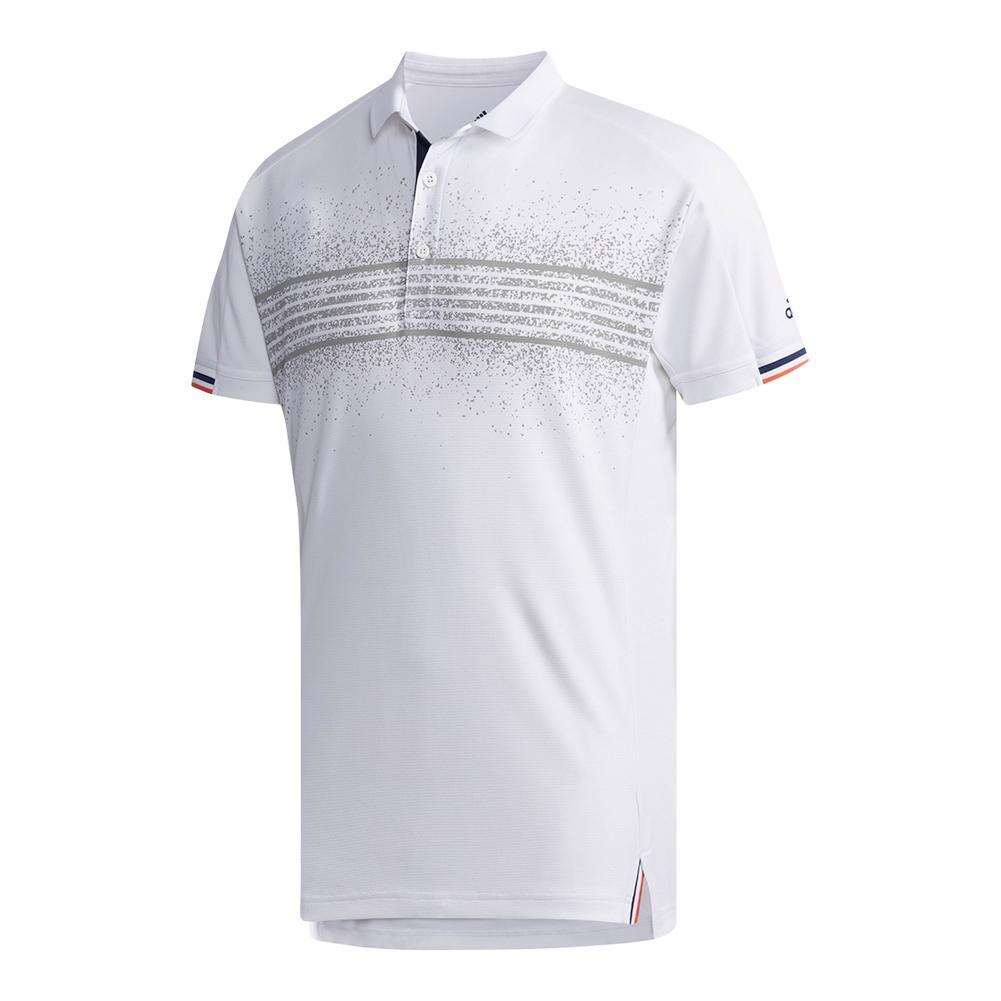Men's Club Tennis Polo Q2 White