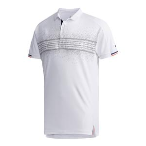 Men`s Club Tennis Polo Q2 White