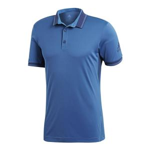 Men`s Pique Tennis Polo Noble Indigo